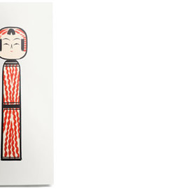 House Industries - Kokeshi Print No. 3