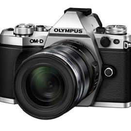 OLYMPUS - 「OM-D E-M5 Mark II」ボディー(シルバー)+「M.ZUIKO DIGITAL ED 12-50mm F3.5-6.3 EZ」