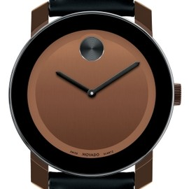 MOVADO - Movado 'Bold' Leather Strap Watch by janie