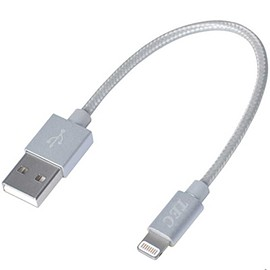 TEC - Lightning Cable (TLGNG10CM-SL) - Silver