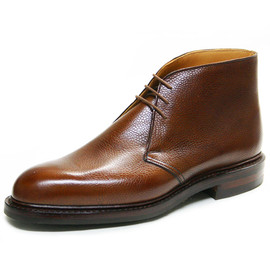 CROCKETT&JONES - Crockett & Jones Chepstow / Tan Scotch Grain