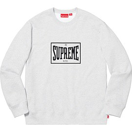Supreme - Supreme®︎ Warm Up Crewneck(Ash Grey)