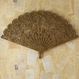 Free People - Vintage Victorian Metal Fan in Vintage-Loves-waxing-poetic