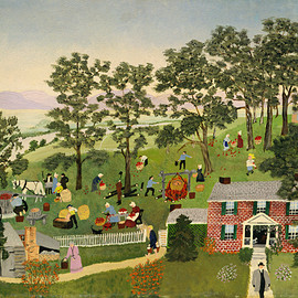 Grandma Moses - Apple Butter Making