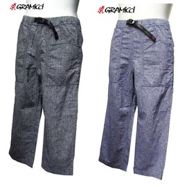GRAMICCI  - 春の定番、七分丈パンツ! GRAMICCI / CHAMBRAY CROPPED PANTS