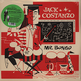 Jack Costanzo ‎ - Mr. Bongo (Vinyl,LP)