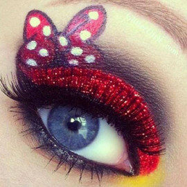 Minnie Mouse - Eye Make Up
