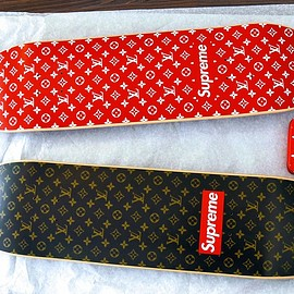 LOUIS VUITTON, Supreme - Louis Vuitton x Supreme Dwcks & wallet(FW2017)
