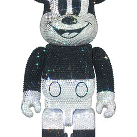 MEDICOM TOY - CRYSTAL DECORATE MICKEY MOUSE BE@RBRICK 400%