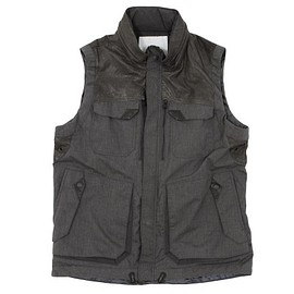 White Mountaineering - T/C Broad Luggage Vest