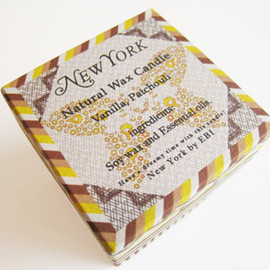 EBI - Natural Wax Candle NEW YORK