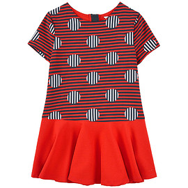 Little Marc Jacobs - Jacquard dress and matching necklace