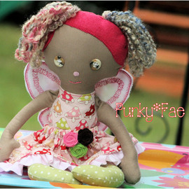 Luulla - Fairy Cloth Doll Laney 14in