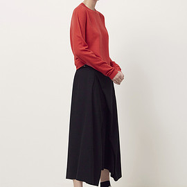 JIL SANDER - Cashmere Crewneck Sweater (Red)