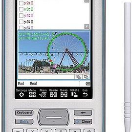 Casio - Touchscreen with Stylus Graphing Calculator, 4.8 (fx-CG500)
