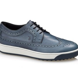TOD'S - LACE-UP LEATHER OXFORD SHOES