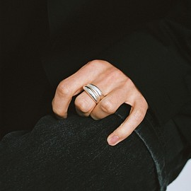 ALL  BLUES - Fat Snake ring