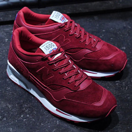 New Balance - M1500 (Made in England) - Red Suede