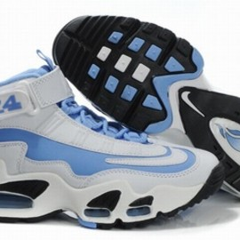 king griffeys max i women shoes blue and white - king griffeys max i women shoes blue and white