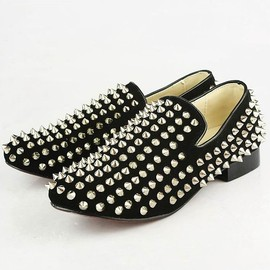 Christian Louboutin - Studs Slipon