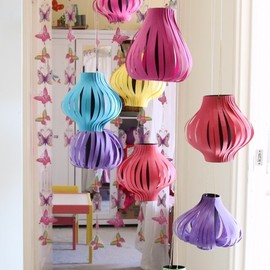 DIY Chinese lanterns.