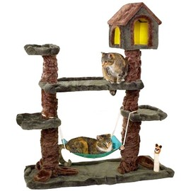 kitty tree house