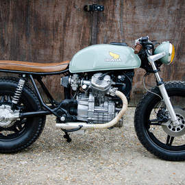 Richard Garden - Honda CX500