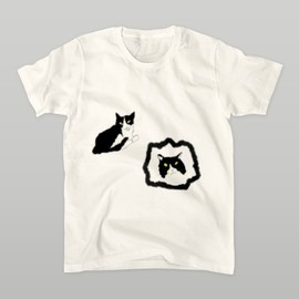 mountainbirdricefield - 猫 Tシャツ