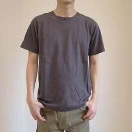 ts(s) - used touch fine cotton t-shirts (brown)