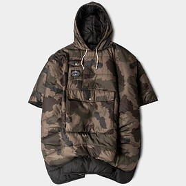 Poler - Reversible Camp Poncho - Black/Camo