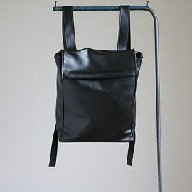 Maria Jobse - Backpack Large #black/cow leather