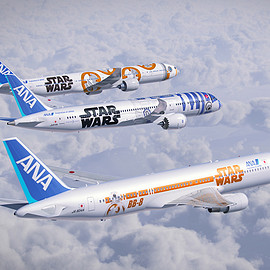 ANA STAR WARS PROJECT - STAR WARS JETS
