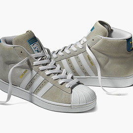 adidas skateboarding, adidas - Superstar Mid (Respect Your Roots) - Grey/White?