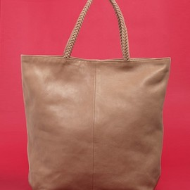 NATERRA - leather tote bag