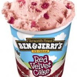 Ben and Jerrys - Red Velvet Cake