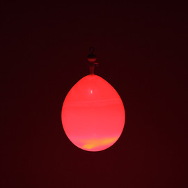 kyouei design - BalloonLamp red