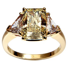 Cartier - Canary Diamond Ring