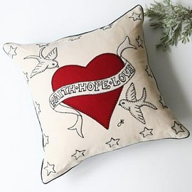 Kino - Tattoo Cushion (FAITH・HOPE・LOVE)