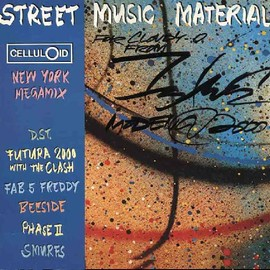 Various Artists - Street Music Material ‎ (LP, Comp, Mixed)