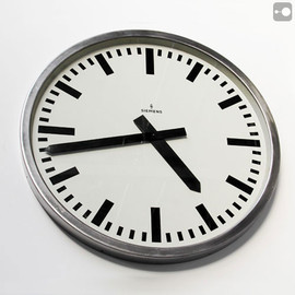 German Industrial Clock