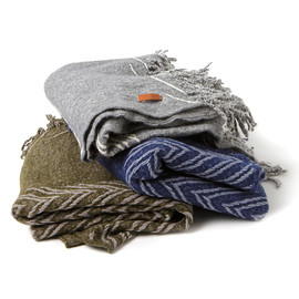 hobo - Boiled Wool Stole by Tricote