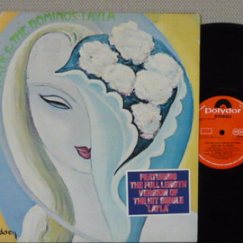 Derek And The Dominos - layla and other assorted love songs (Record: Polydor 2625 005 U.K.orig.)