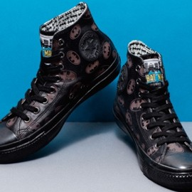 CONVERSE, DC COMICS - LEATHER ALL STAR BM HI