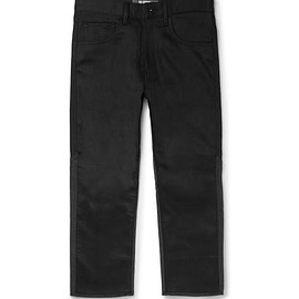 Junya Watanabe - Cropped Panelled Wool and Denim Jeans