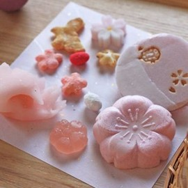 sweets - Japanese dry confections