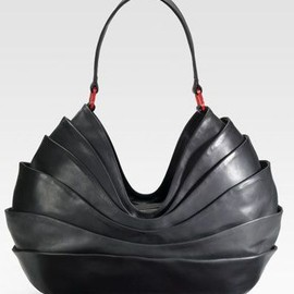 Christian Louboutin - Layered Leather Hobo.