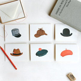 Rifle Paper - Assorted Hat Card Set