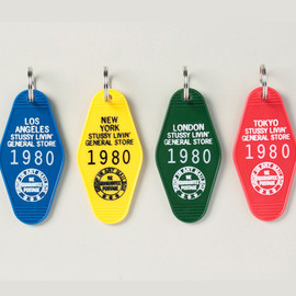 "STUSSY Livin GENERAL STORE - STUSSY Livin GENERAL STORE ""GS Key Tag"""