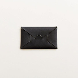 irose - seamless card case / black