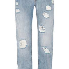EMILIO PUCCI - Embellished mid-rise boyfriend jeans